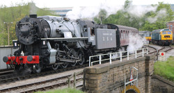 locomotive Class S160 5820, nicknamed Bi