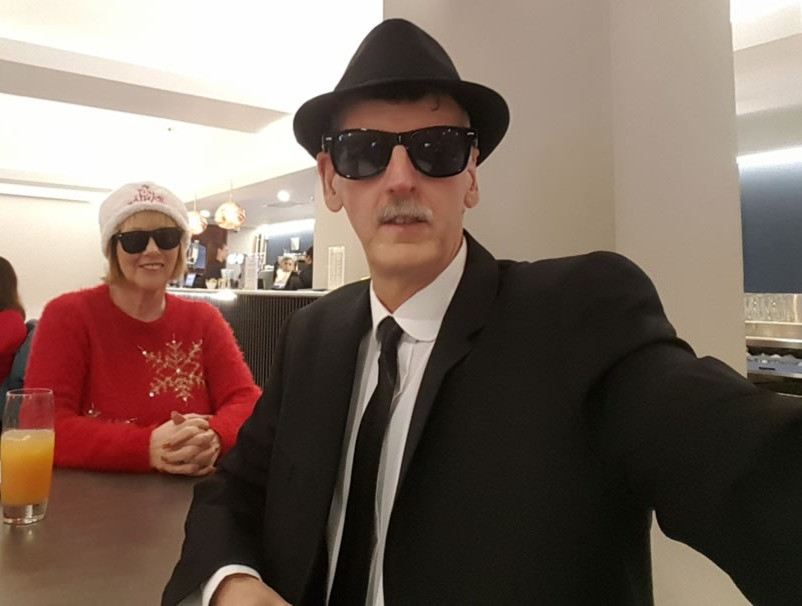 Fancy Dress Blues Brothers
