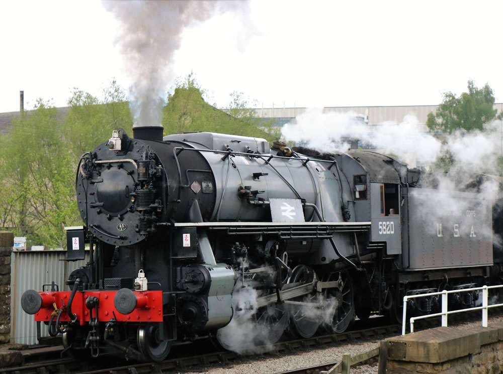 Class S160 2-8-O No. 582O