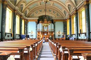 Inside united reformed church