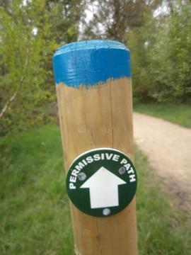 Permissive path sign