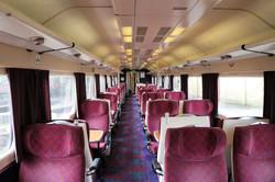Inside mk3 coach
