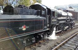 Steam train 43106