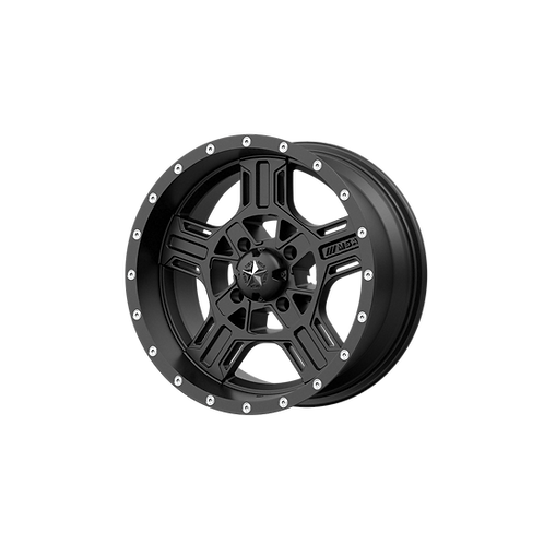 MSA OFFROAD WHEELS AXE SATIN BLACK