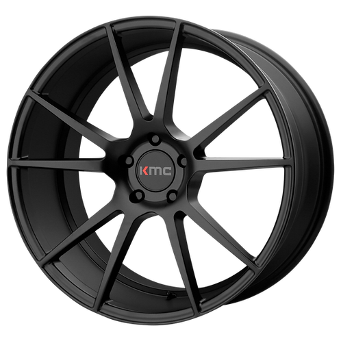 KMC FLUX SATIN BLACK