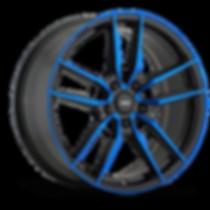 konig main line myth wheel gloss black w