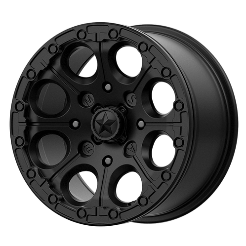 MSA OFFROAD WHEELS CANNON BEADLOCK SATIN BLACK