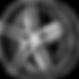 KM703 Monophonic Satin Black Brushed