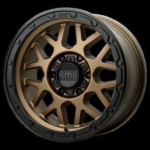 KMC GRENADE OFF-ROAD MATTE BRONZE W/ MATTE BLACK LIP
