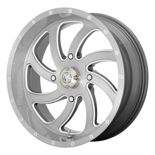 MSA OFFROAD WHEELS SWITCH BRUSHED TITANIUM