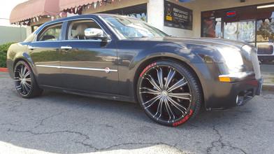 chrysler 300 aftermarket wheels