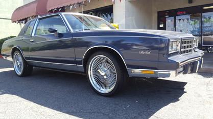 monte carlo chrome wheels