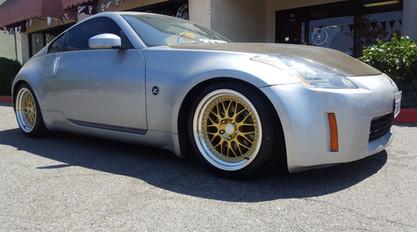 gold wheels 300zx