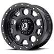 xd wheels black machined face