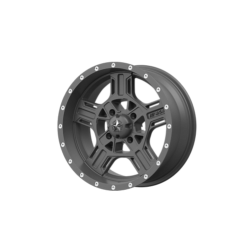 MSA OFFROAD WHEELS AXE MATTE GRAY