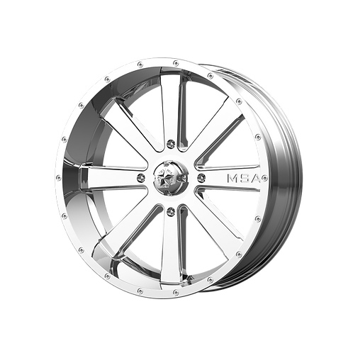 MSA OFFROAD WHEELS FLASH CHROME
