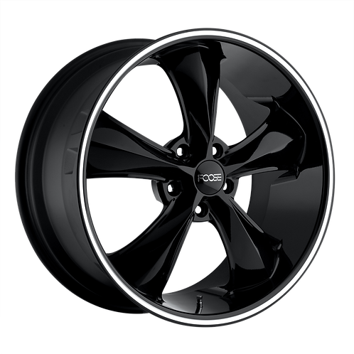 FOOSE 1PC LEGEND GLOSS BLACK MILLED