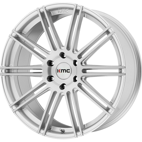 KMC CHANNEL BRUSHED SILVER