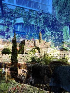 David Tower Garden in Jerusalem