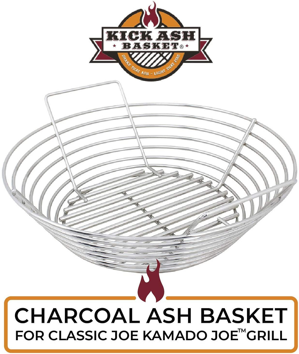 Kick ASH basket vs. DIY Charcoal basket