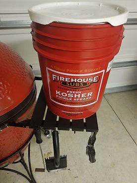 Firehouse subs brine bucket