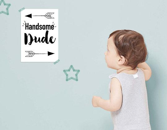 Handsome dude - הדפס דיגיטלי