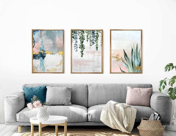 מאמנות מקורית, מגוון תמונות לבית, לסלון ולמשרד