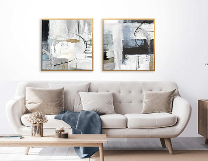 2-framed-canvas-gold-abstract-smoked-blu