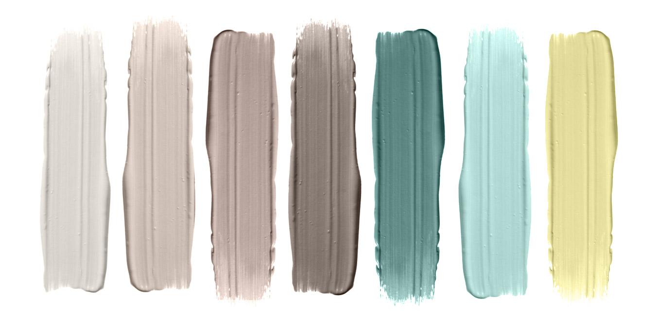 color pallette פלטת צבעים