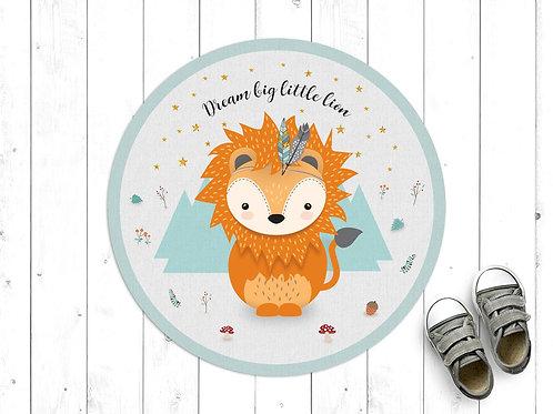 שטיח פיויסי עגול אריה מנטה
