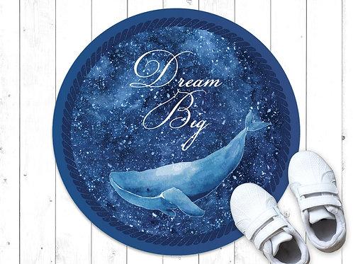 שטיח פיויסי עגול Whale