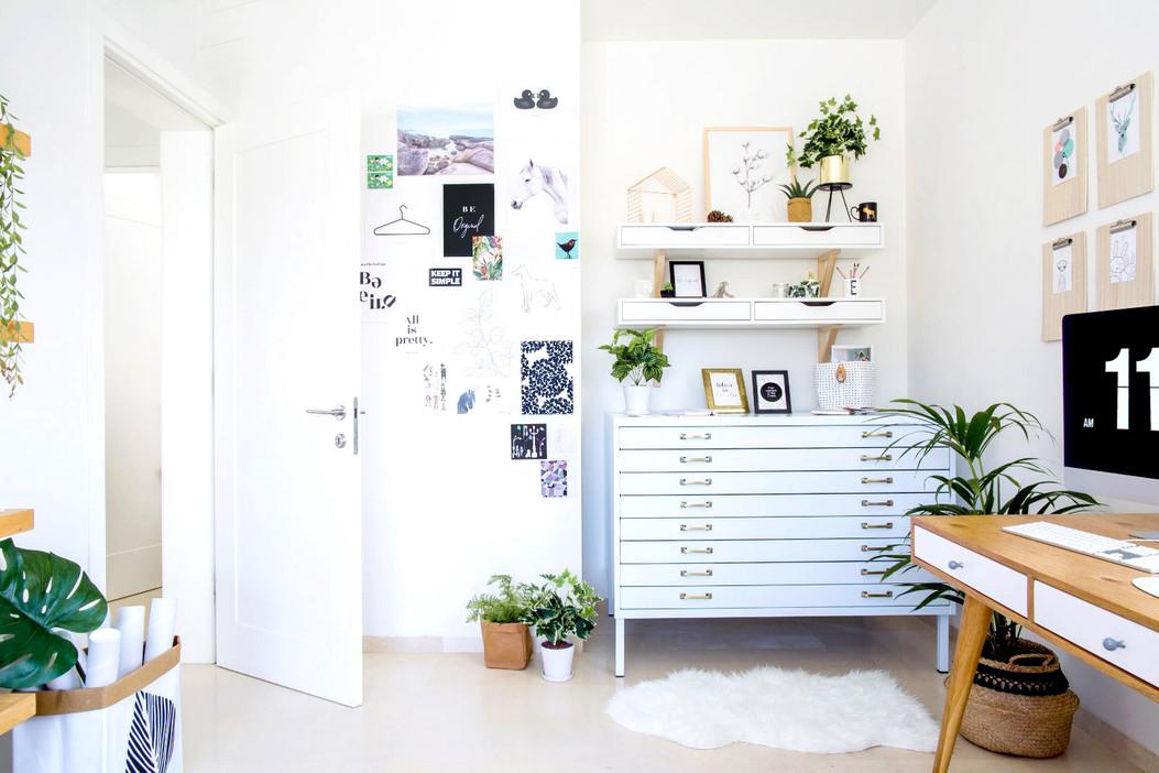 תמונות למשרד ביתי, עיצוב משרד