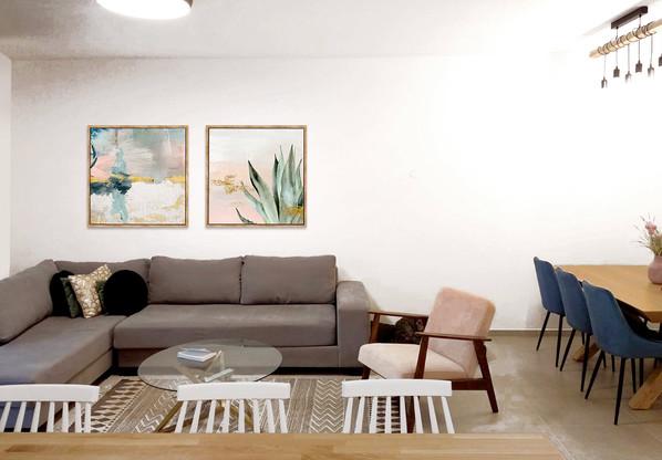 צליל-כהן---canvas-set-oak-frame-abstract