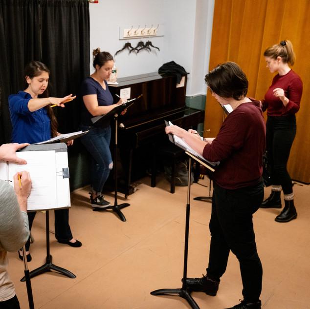 Cyrano Rehearsal