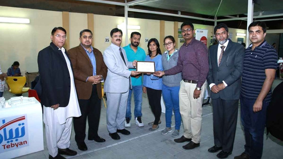 Certificate awarded to Tebyan Education Services.