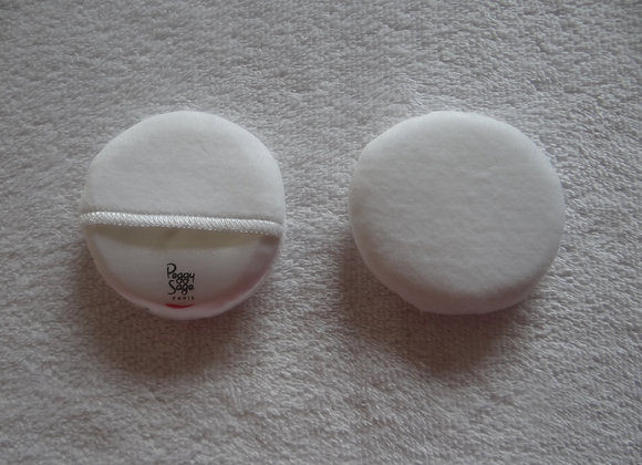 Medium Powder Puff with removable cover