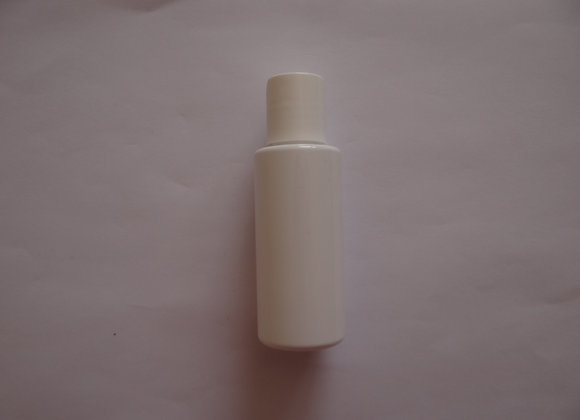 Empty White Glossy Bottle 50 ml