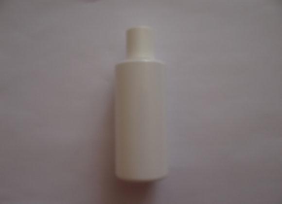 Empty White Glossy Bottle 100 ml