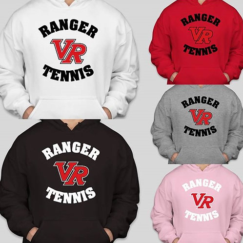 Ranger Tennis Hoodie (Order by 10/27/20)
