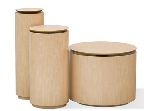 Mesa Lateral Cilíndro  /  Cilindro Side Table