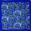 Thumbnail: POCHETTE EN SOIE BLUE DANDY