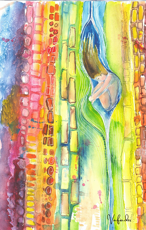28 In The Divine Womb (Being Born Again) By Lori Vafiades-min.png