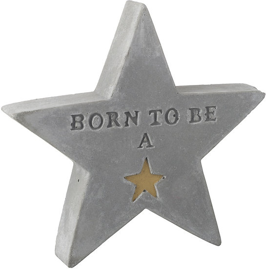 Born To Be A Star - Concrete Star