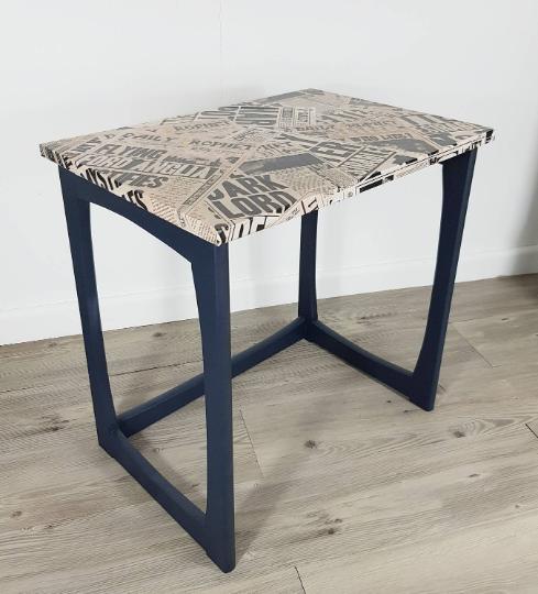 Mid Century Daily Prophet Table - Harry Potter