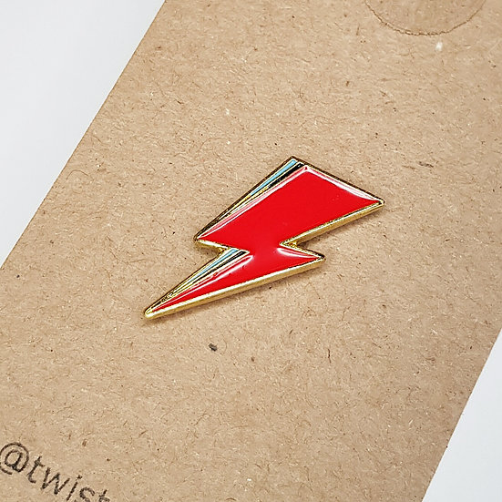 Lightning Bolt - Enamel Pin