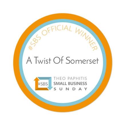SBS Winners Badge - A Twist of Somerset