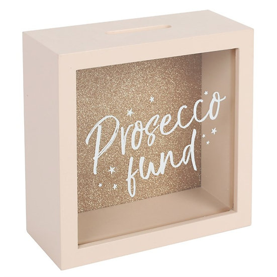 Prosecco Fund Savings Box