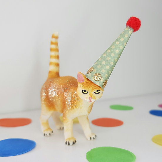 Cat - Party Animal Cake Topper