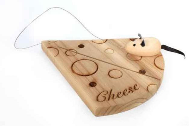 Cheese Board & Mouse