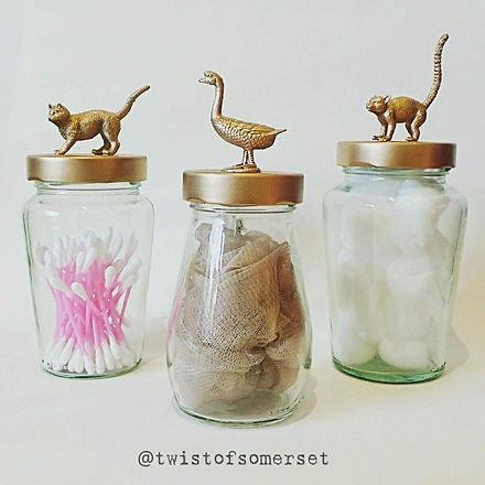 A Twist of somerset - Storage jars - Plastikote feature